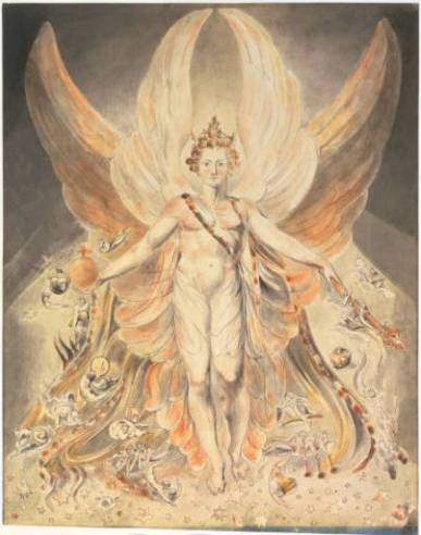 Satan in his Original Glory - William Blake