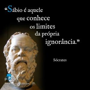 Meme de Sócrates- Sábio é aquele que...