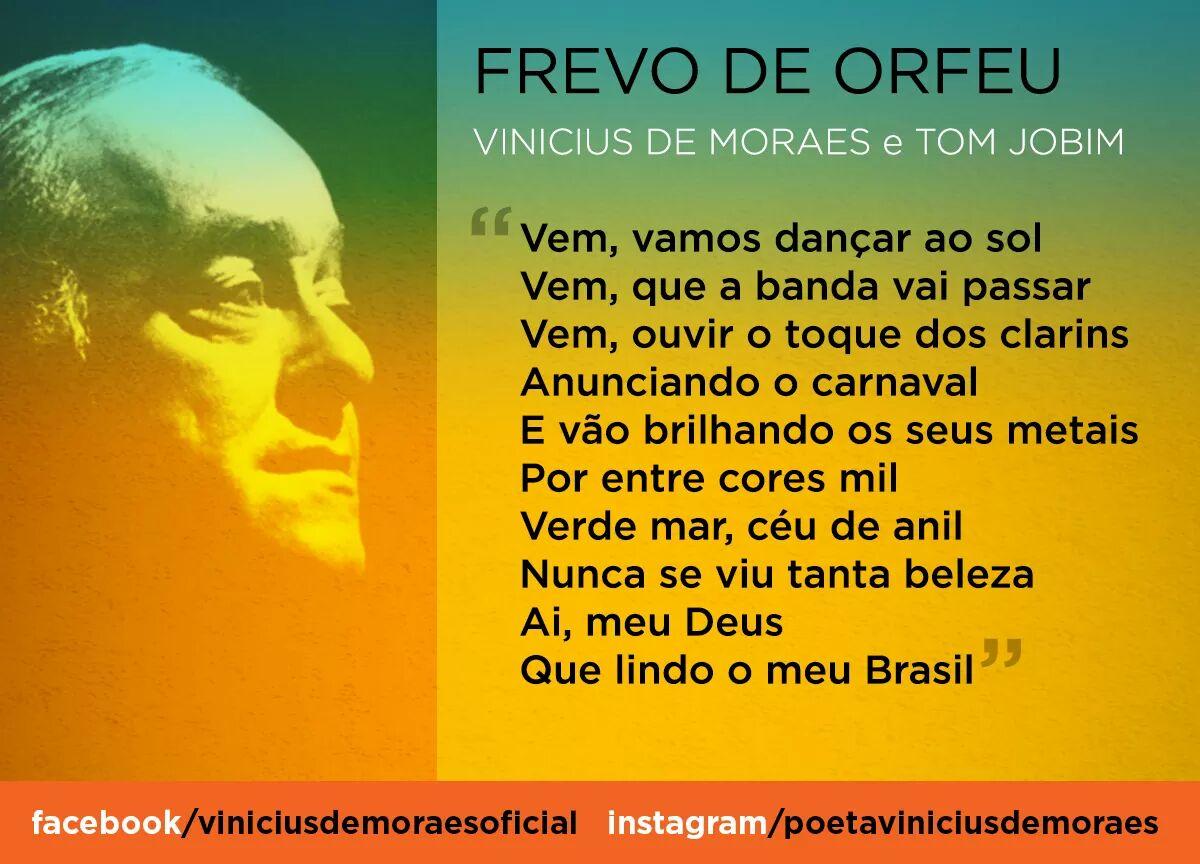 Extremamente Poesia na vida: Vinicius de Moraes e o carnaval – OPINIÃO CENTRAL ZO79